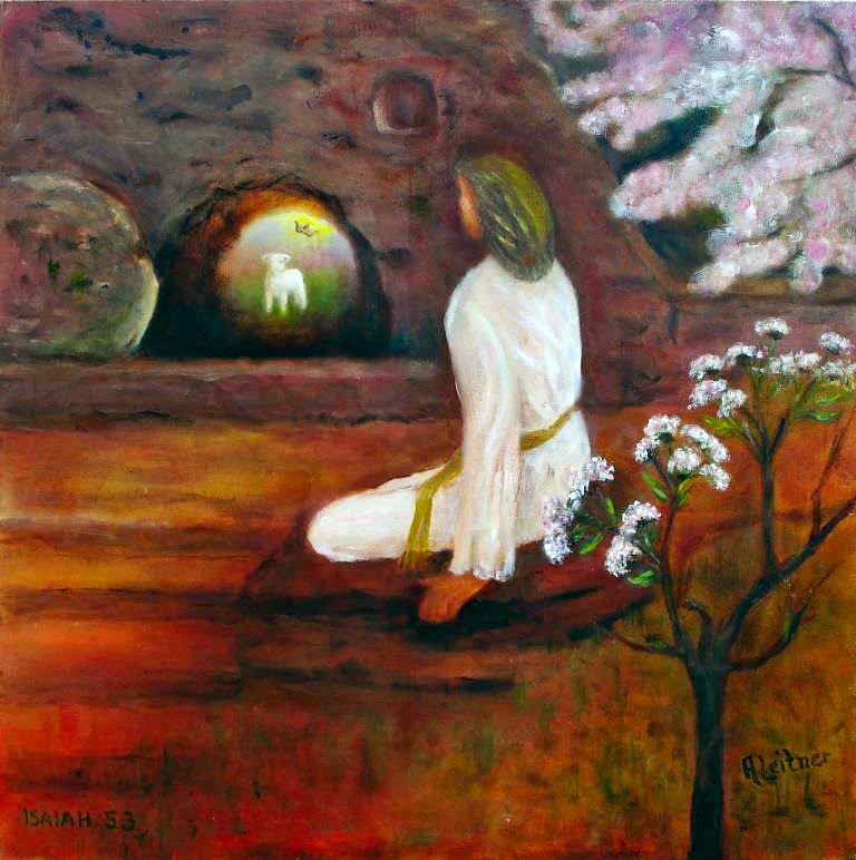 Isaiah 53 (Oil on canvas © Ans Leitner